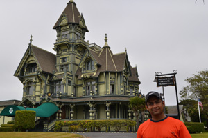 Carson Mansion in Eureka