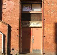 Lourve Cafe back alley